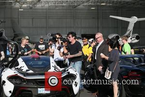 Tommy Lee - Gumball 3000 arrivals into Reno, Nevada by plane from Amsterdam - Reno, Nevada, United States - Wednesday...
