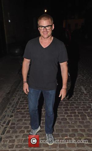 Heston Blumenthal - Heston Blumenthal seen enjoying a lads night out with his son at the Chiltern Firehouse - London,...