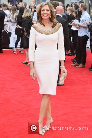 Allison Janney - European Premiere of 'Spy' at the Odeon Leicester Square - Arrivals at Odeon Leicester Square - London,...