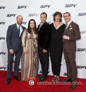 Jason Statham, Melissa McCarthy, Jude Law, Miranda Hart and Paul Feig - 'Spy' U.K. film premiere at the Odeon Leicester...