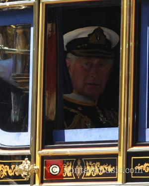 Prince Charles, Prince of Wales, Camilla and Duchess of Cornwall - The State Opening Of Parliament at the Houses of...