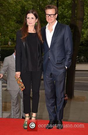 Livia Firth and Colin Firth