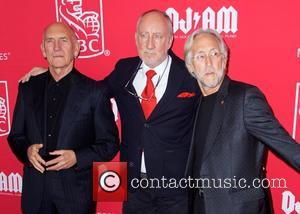 Bill Curbishley, Pete Townshend and Nick Fradiani