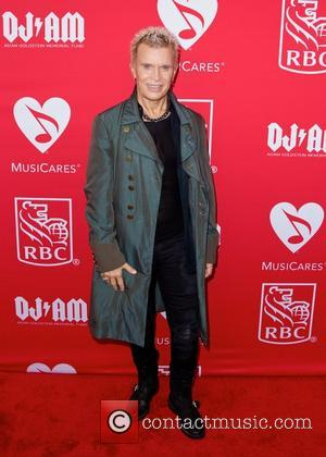 Billy Idol - 11th Annual MusicCares Map Fund Benefit concert honoring Pete Townshend and Bill Curbishley - New York City,...
