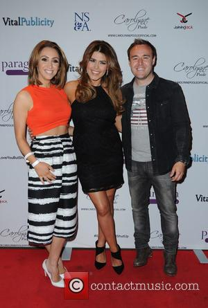Lucy Jo Hudson, Carolynne Poole and Alan Halsall