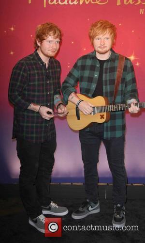 Ed Sheeran, Wax Figure, Madame Tussauds, Wax and Plaid