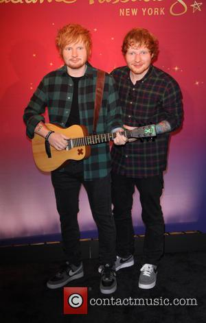 Ed Sheeran, wax figure, Madame Tussauds New York, Madame Tussauds, wax and plaid - Madame Tussauds New York and Ed...