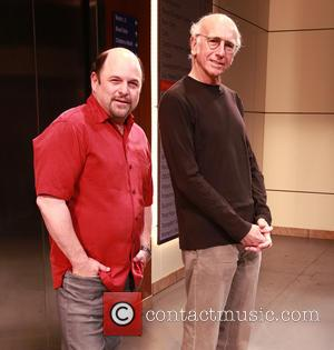 Jason Alexander and Larry David