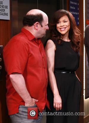 Jason Alexander and Rosie Perez
