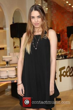 Amber Le Bon - The Folie Folie store launch on Oxford Street - London, United Kingdom - Thursday 28th May...