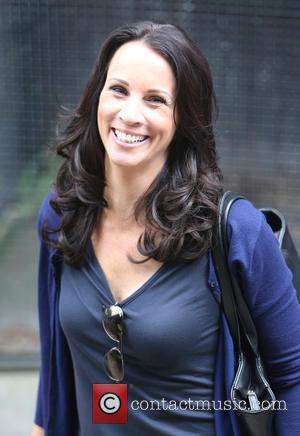 Andrea McLean - Andrea McLean outside ITV Studios - London, United Kingdom - Thursday 28th May 2015