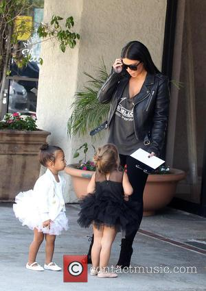 Kim Kardashian, Nori West and Penelope Disick