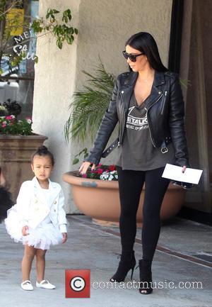 Kim Kardashian and Nori West