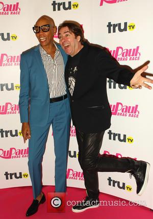 Rupaul and Jonathan Ross