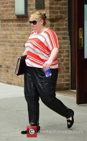 Rebel Wilson - Rebel Wilson leaving her hotel in New York - Manhattan, New York, United States - Thursday 28th...