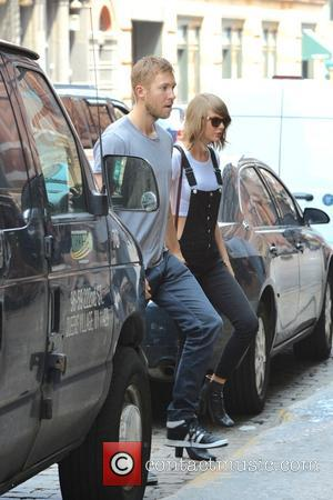 Taylor Swift and Calvin Harris - Taylor Swift and Calvin Harris in New York - Manhattan, New York, United States...