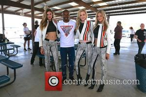 Simone Holtznagel, Danielle Knudson, Natalie Pack and Tyson Beckford
