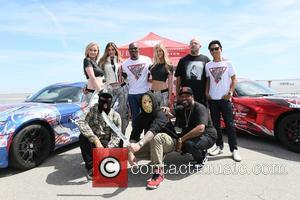 Tyson Beckford, Bun B, Simone Holtznagel, Danielle Knudson and Natalie Pack - Gumball 3000 - Day 5 Checkpoint goes to...
