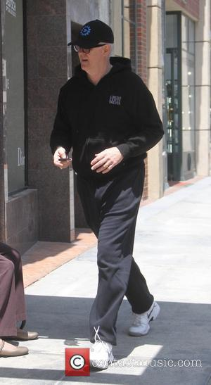 John Lithgow - John Lithgow goes to a doctors office in Beverly Hills - Hollywood, California, United States - Thursday...