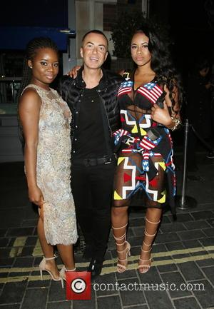 A*m*e and Amira (neon Jungle) Julien Macdonald