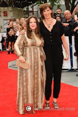 Melissa Mccarthy and Miranda Hart