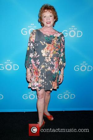 Becky Ann Baker - Opening night of Broadway play An Act of God at Studio 54 - Arrivals. at Studio...