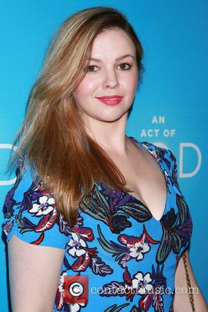 Amber Tamblyn - Opening night of Broadway play An Act of God at Studio 54 - Arrivals. at Studio 54,...