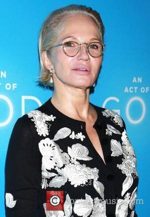 Ellen Barkin - Opening night of Broadway play An Act of God at Studio 54 - Arrivals. at Studio 54,...