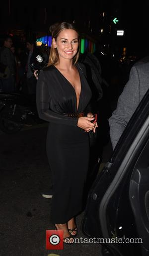 Sam Faiers - Celebs Pictured Leaving Cafe De Paris Nightclub After Attending Coco De Mer Launch Party . - London,...