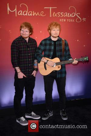 Ed Sheeran - Madame Tussauds New York And Ed Sheeran Debut Never Before Seen Wax Figure Of Music Superstar at...