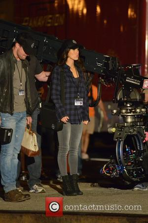 Megan Fox, Will Arnett and Stephan Amell