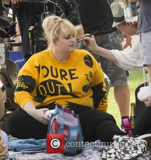 Rebel Wilson - On Location with How to be Single at Central Park - New York, New York, United States...