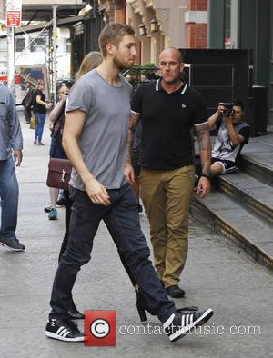Calvin Harris - Taylor Swift and Calvin Harris out and about in NYC - NYC, New York, United States -...