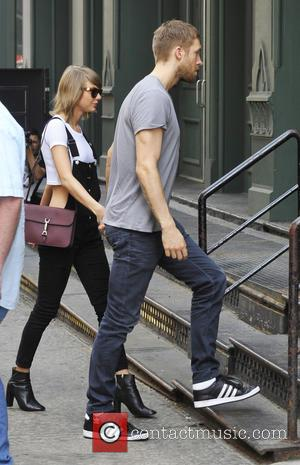 Taylor Swift and Calvin Harris - Taylor Swift and Calvin Harris out and about in NYC - NYC, New York,...