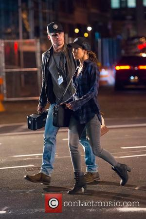 Megan Fox and Alan Ritchson - Teenage Mutant Ninja Turtles 2 Films in Tribeca - New York, New York, United...