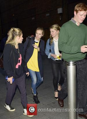 Cressida Bonas - Cressida Bonas leaving Leicester Square theatre with friends at w1 - London, United Kingdom - Friday 29th...