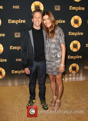 Brian Grazer and Veronica Smiley - Television Academy Screening for 'Empire' held at The Grove - Arrivals at The Grove...