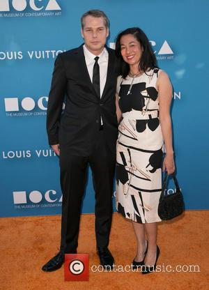Shepard Fairey and Amanda Fairey - 2015 MOCA Gala presented by Louis Vuitton at The Geffen Contemporary at MOCA at...