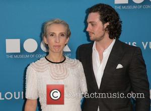 Sam Taylor-Johnson and Aaron Taylor-Johnson - 2015 MOCA Gala presented by Louis Vuitton at The Geffen Contemporary at MOCA at...