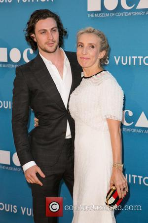 Aaron Taylor-Johnson and Sam Taylor-Johnson - 2015 MOCA Gala presented by Louis Vuitton at The Geffen Contemporary at MOCA at...