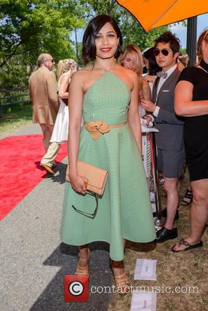 Freida Pinto - 8th Annual Veuve Clicquot Polo Classic at Liberty State Park in New Jersey - Jersey City, New...