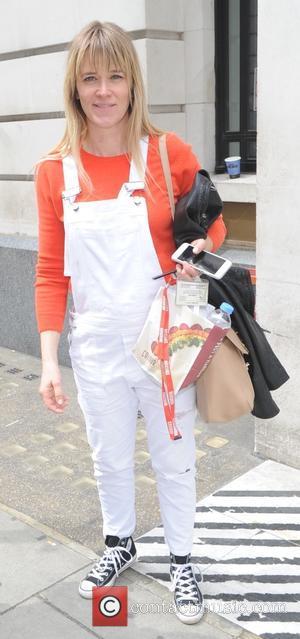 Edith Bowman - Edith Bowman arrives at the BBC Radio 2 studios - London, United Kingdom - Saturday 30th May...