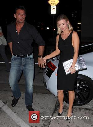 Joanna Krupa and Romain Zago