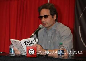 David Duchovny - David Duchovny presents his new book 'Holy Cow' at the 2015 BookExpo in New York City at...
