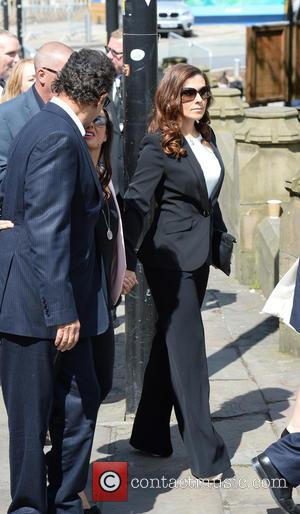 Kym Marsh - Memorial Service to celebrate the life of Anne Kirkbride at Manchester Cathedral - Manchester, United Kingdom -...