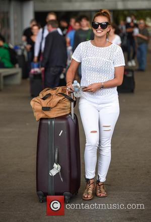 Ferne McCann - TOWIE stars arrive at Malaga airport ahead of filming the shows Only Way is Marbs. at Malaga...
