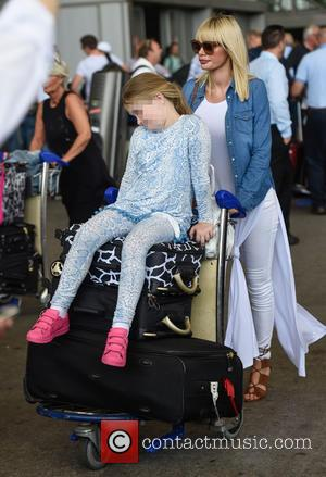 Chloe Sims - TOWIE stars arrive at Malaga airport ahead of filming the shows Only Way is Marbs. at Malaga...