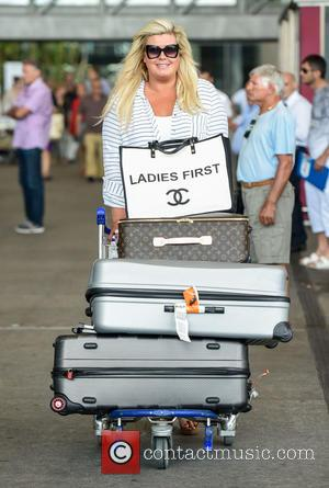 Gemma Collins - 'TOWIE' stars arrive at Malaga airport ahead of filming for their new show 'Only Way is Marbs'....