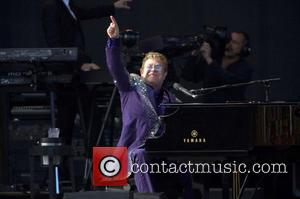 Elton John - Elton John performs live in concert at the Kent Showground in Detling at Kent Showground - Detling,...