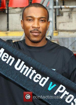Ashley Walters - Errols Game for Prostrate Cancer, Men United v Orient Legends at Matchroom Stadium, London - London, United...